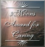 3 Moons Award for Caring