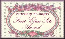 Portrait of an Angel's First Class Site Award