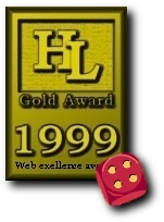 HyperLinks Webmasters Award Of Exellence